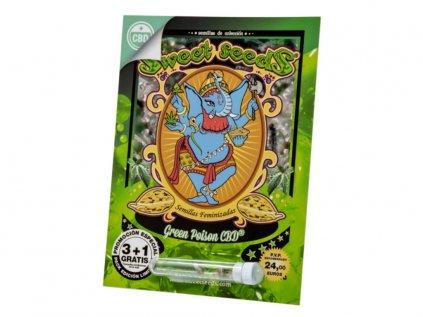 Green Poison CBD   Sweet Seeds