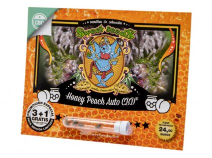 Honey Peach AUTO CBD® | Sweet Seeds