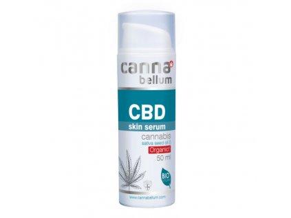 CBD Pleťové sérum 50 ml + Zdarma CBD Čistící gel na ruce 50 ml | Cannabellum