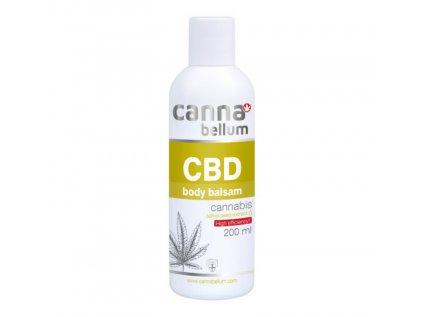 CBD Tělový balzám 200 ml + Zdarma CBD Čistící gel na ruce 50 ml | Cannabellum