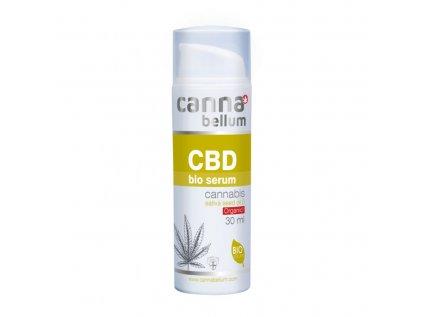 CBD Bio serum 30 ml + Zdarma CBD Čistící gel na ruce 50 ml | Cannabellum