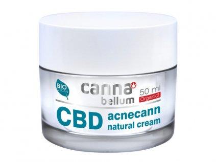 CBD Pleťový krém na AKNÉ, 50 ml + Zdarma CBD Čistící gel na ruce 50 ml | Cannabellum