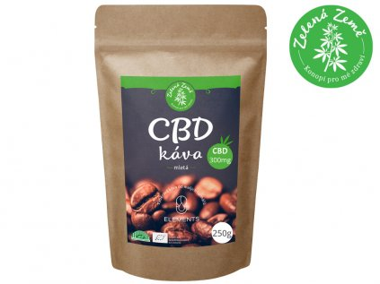 CBD Káva BIO 250g   Zelená Země