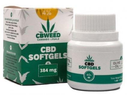 CBD kapsle 4%, 60 ks   CBWEED