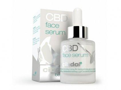 Obličejové Sérum (CBD 60 mg) 30 ml   Cibdol