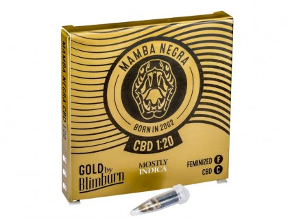 Mamba Negra CBD | Blimburn Seeds