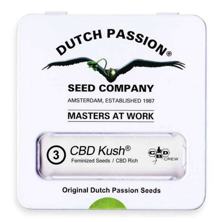 Dutch Passion CBD Kush Počet ks Feminizované: 10