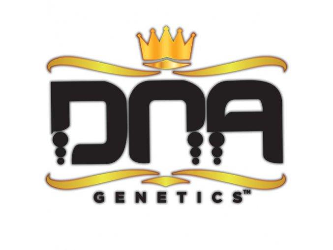 DNA Genetics Logo Black