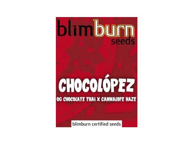 certified blimburn seeds CHOCOLOPEZ feminized