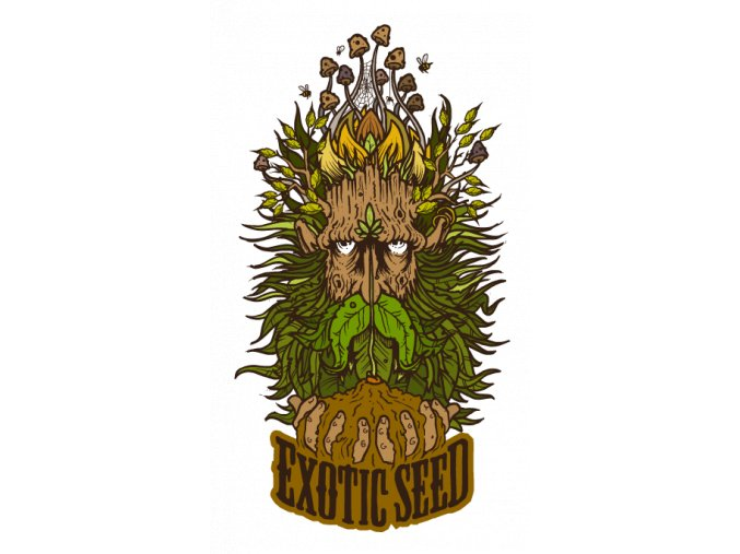 exotic seed greenman logo
