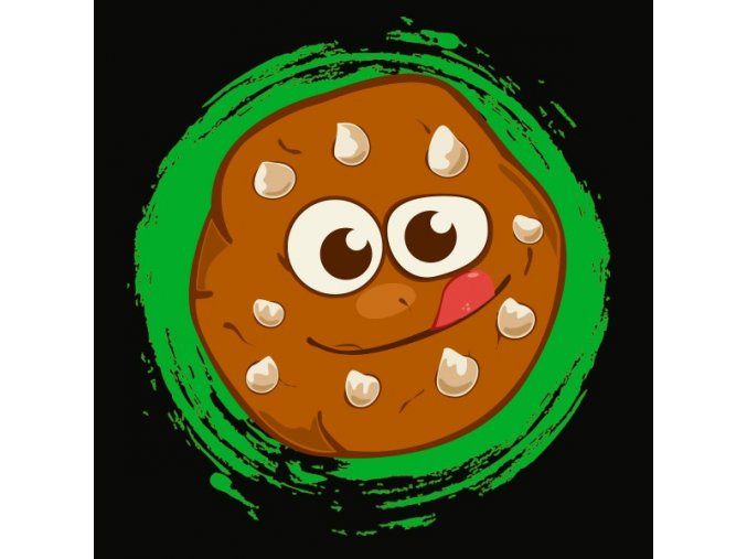CBD Caramel cookie 600x600