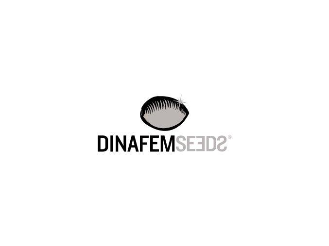 dinafem logo black