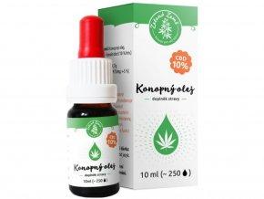 CBD Konopný olej 10% 10 ml | Zelená Země | SEMENACANNABIS.CZ