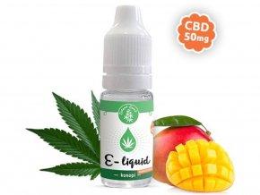 E-liquid s CBD, příchuť Konopí - MANGOKUSH 10ml | Zelená Země