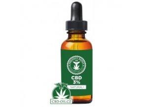 Fénixovy kapky: CBD olej 3% NATURAL 10 ml
