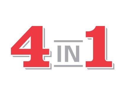 4 in 1 led light logo