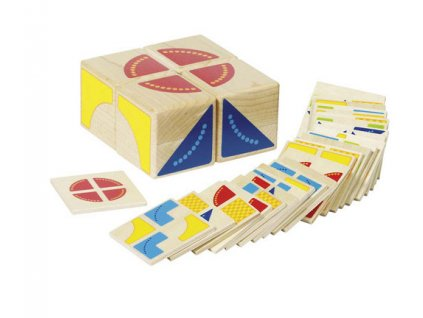 Didaktická hra Skládačka kostka