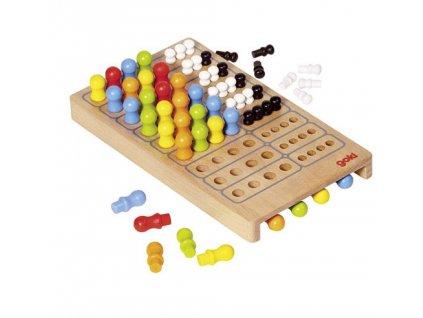 Stolní hra Logic ze dřeva
