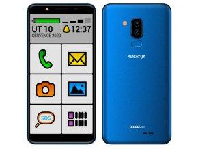 ALIGATOR S6000 SENIOR Duo 16GB modrý
