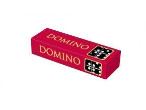 Domino dřevěné malé, 28 dílků