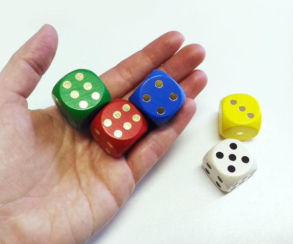 Detoa Sada hracích kostek, 25mm