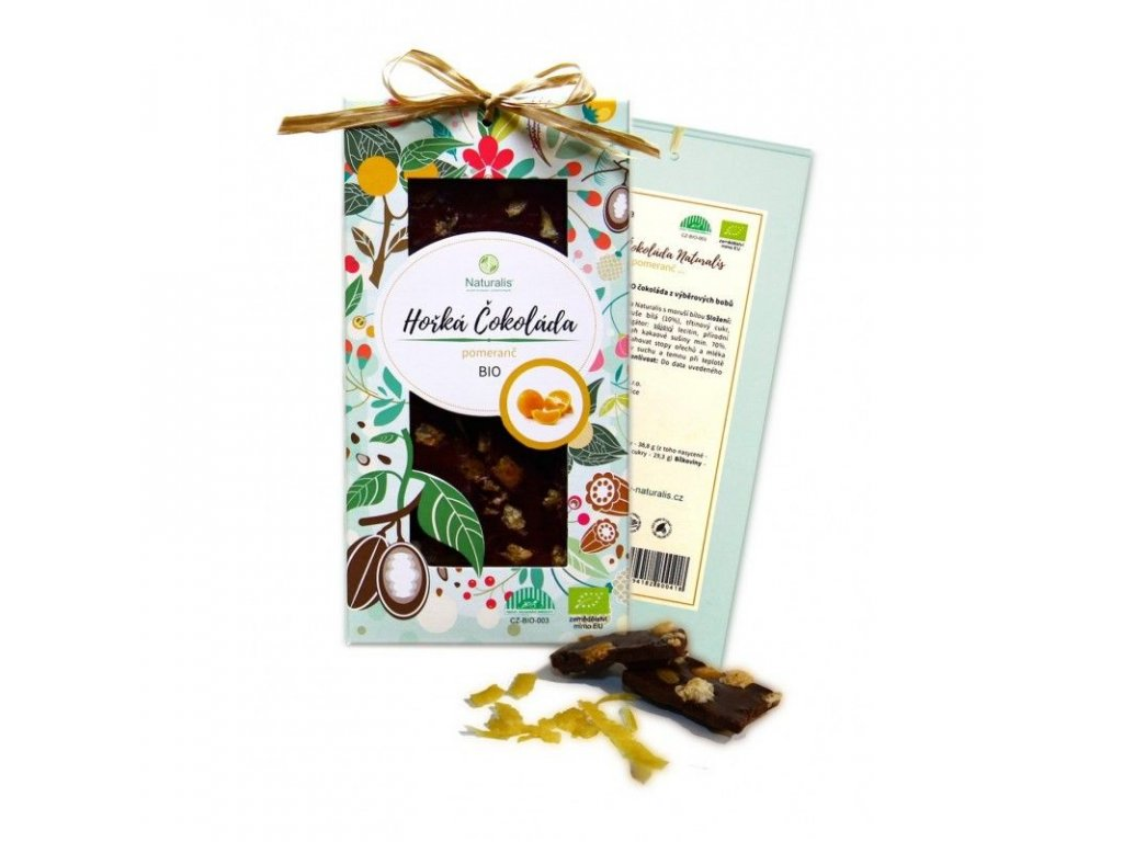 117 bio cokolada naturalis s pomerancem 80g 8594182800470