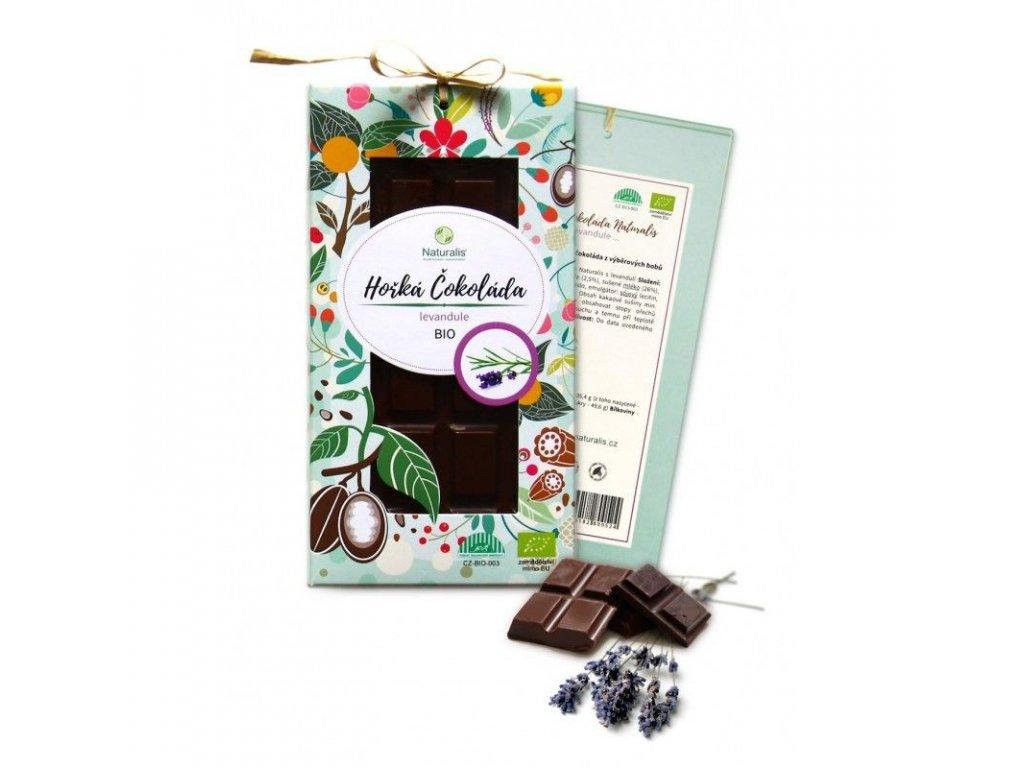 118 bio cokolada naturalis s levanduli 80g 8594182800517