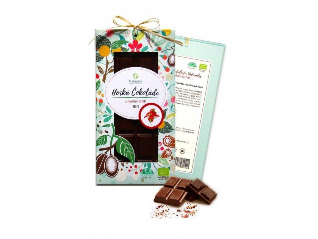 119 bio cokolada naturalis s chilli 80g 8594182800494