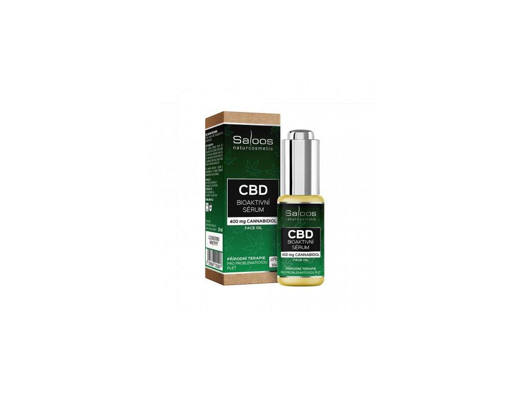 saloos cbd bioaktivni serum kanabidiol cannabidiol