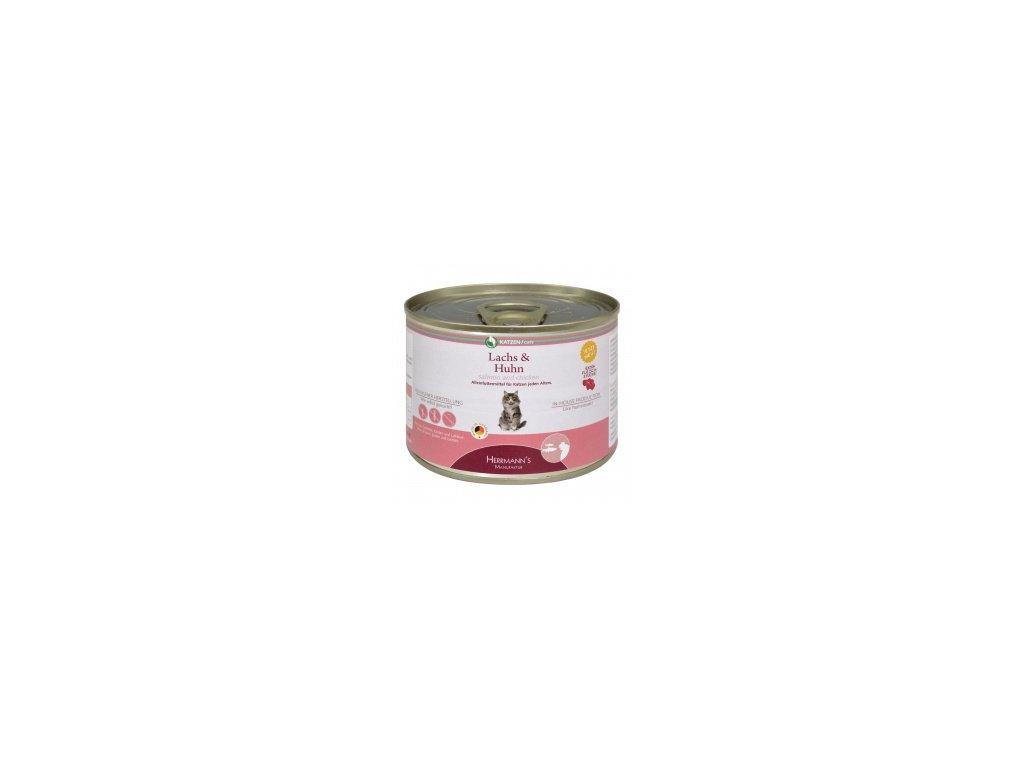 konzerva pro kocky losos s kurecim masem default