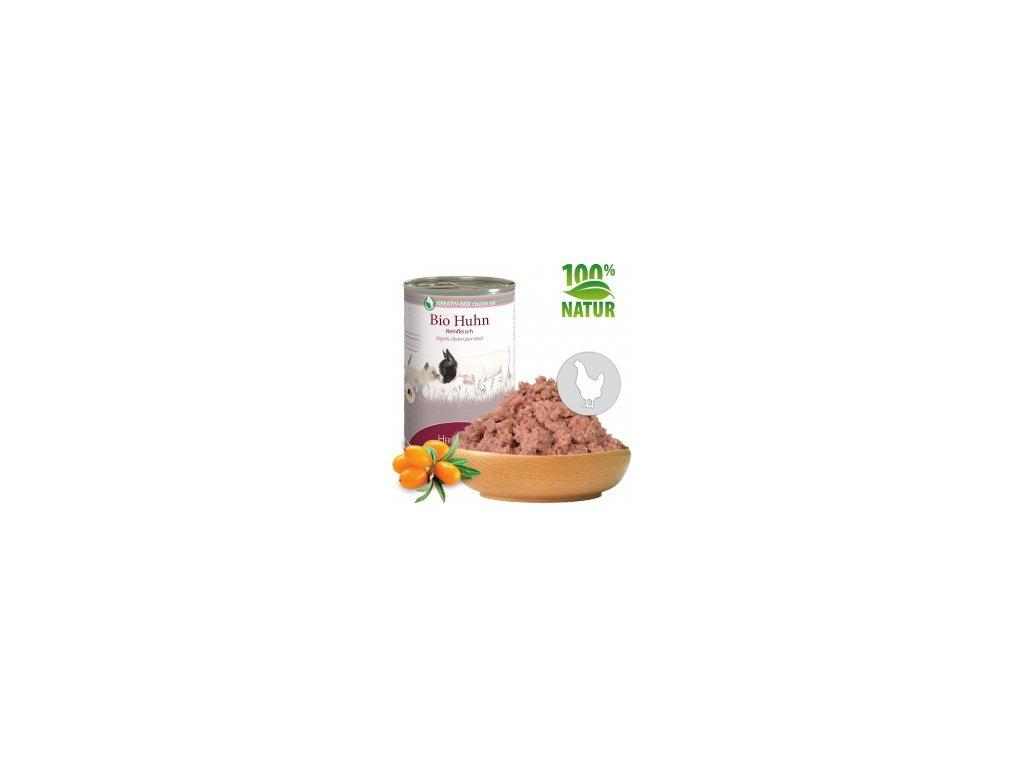 konzerva pro psy a kocky kureci maso bio default