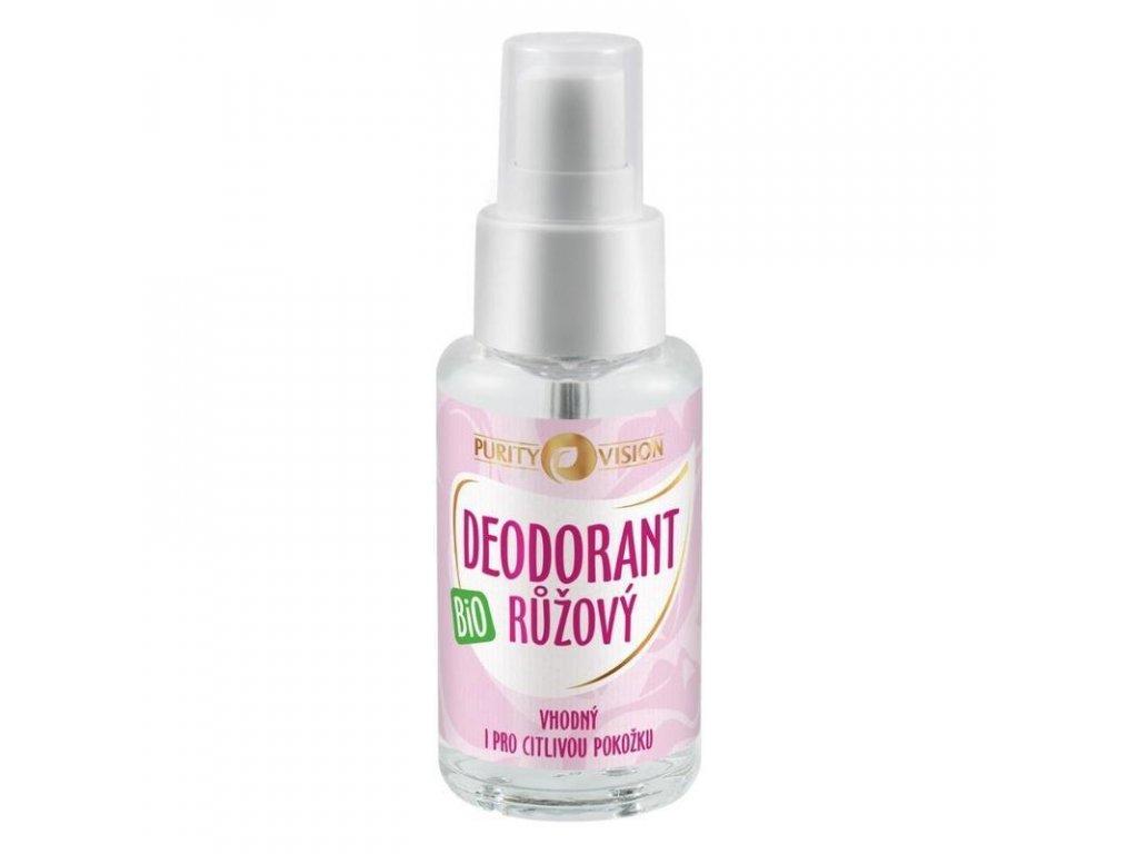 F0D3DE80 43F2 449D 9E19 5713B7B74EF5 purity vision bio ruzovy deodorant 50ml