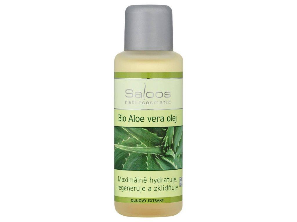 Saloos Bio Aloe vera olej 50ml (Objem 50)