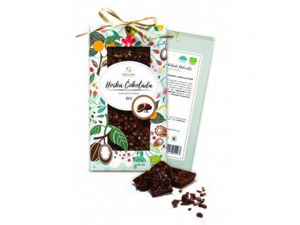 116 bio cokolada naturalis s kakaovymi boby 80g 8594182800456