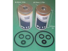 931207 93120 93 1102 931109 93 1105 palivovy filtr s tesnenim fuel filter with seals kraftstoffilter mit dichtung 245g