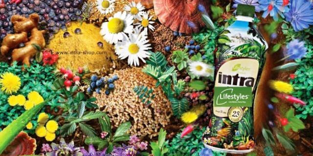 Intra sirup z 23 druhů bylin