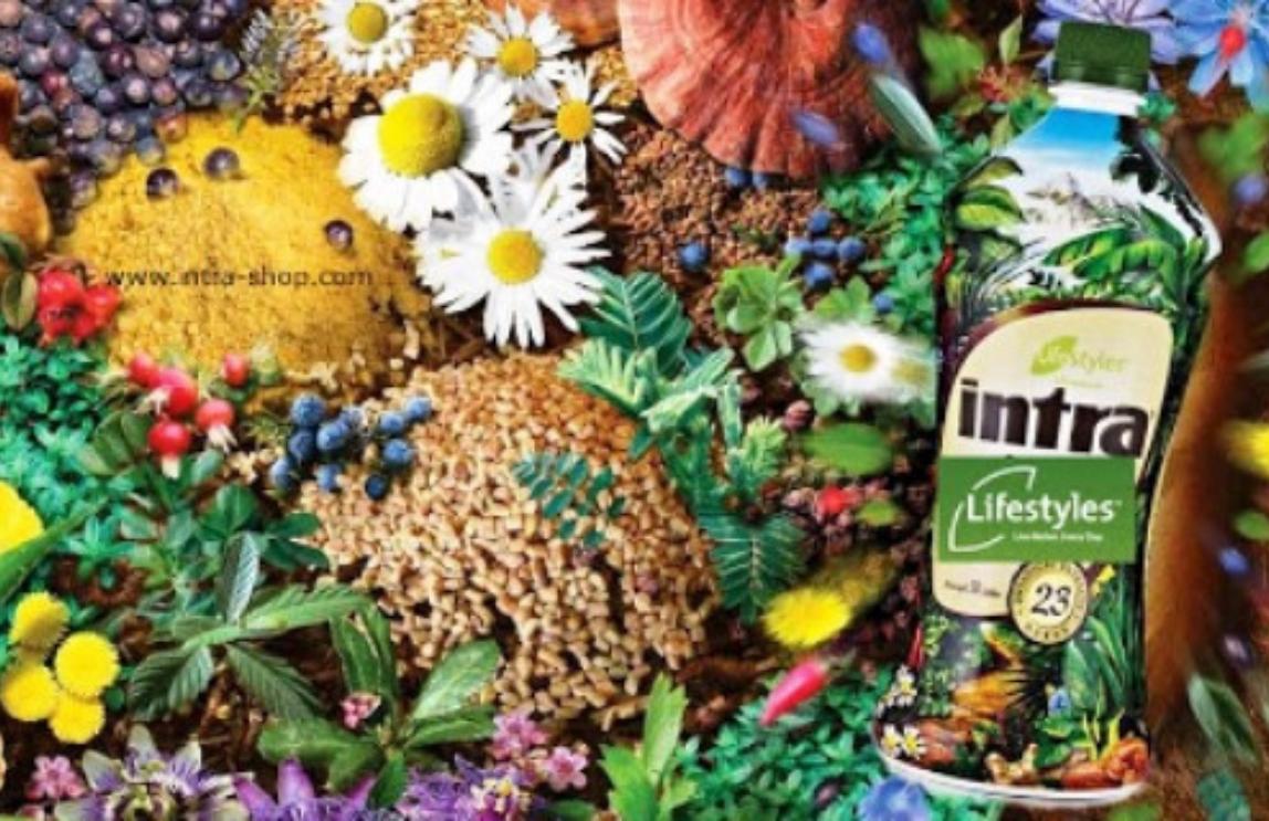 Intra: sirup s výtažky z 23 bylin pro imunitu a celkové zdraví