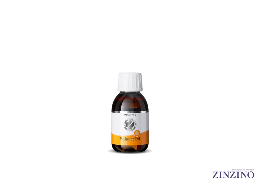 Zinzino Balance Oil omega 3, 100ml Pomeranč, rybí olej