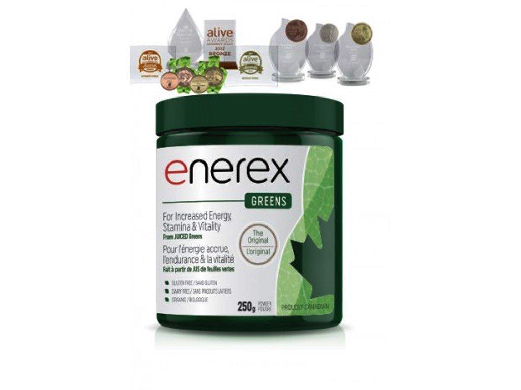 Enerex Greens 250g, koktejl ze zelených superpotravin