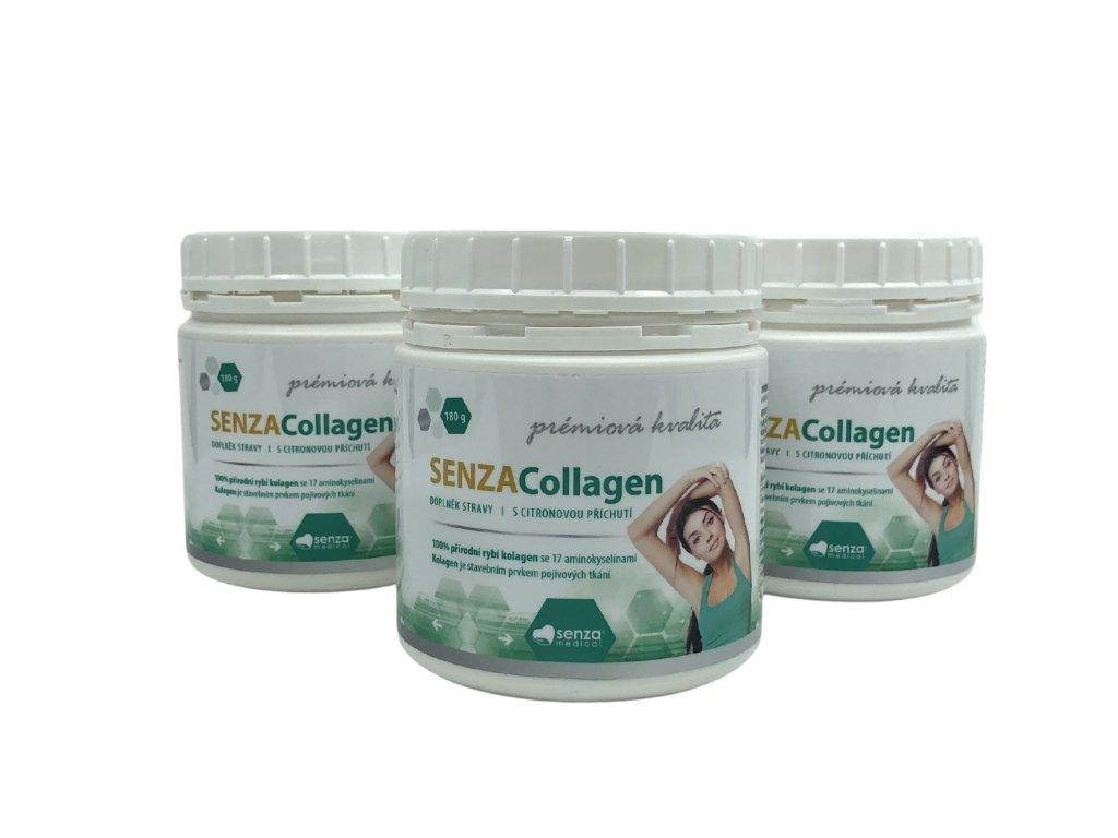 Senza Collagen je doplněk stravy, který slouží jako kvalitní kloubní výživa.