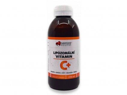 Senza Vitamín C je tekutý doplněk stravy sobsahem lipozomálního vitamínu C k posílení imunity a nervového systému a snížení únavy a vyčerpání.
