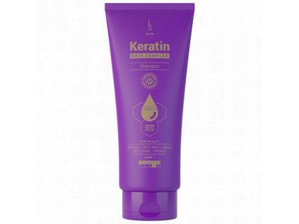 DuoLife Keratin Hair Complex Advanced Formula šampon s keratinem pro poškozené vlasy, 200ml