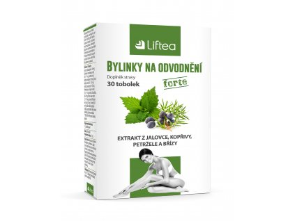 Liftea Bylinky na odvodnění dopomáhají o odvodnění organismu, posilují imunitu a dopomáhají správné činnosti ledvin, lymfatického systému a močových cest.