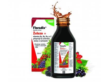 Salus Floradix železo+ 250ml
