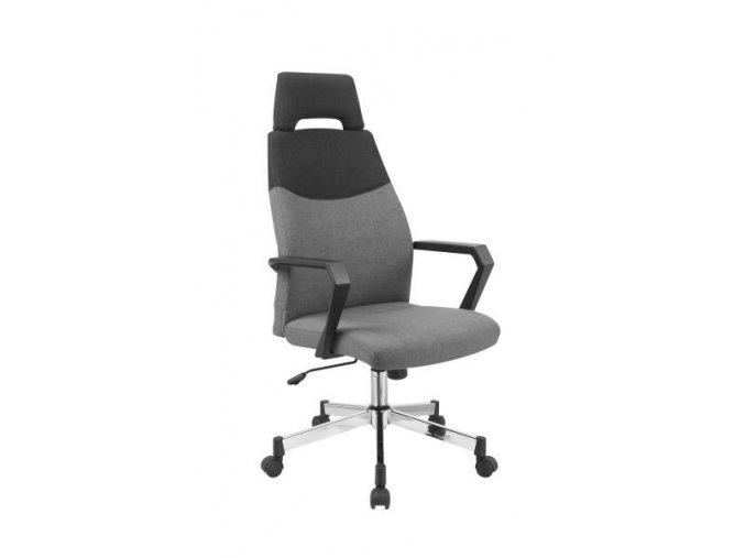 Kancelářská židle Olaf, šedá