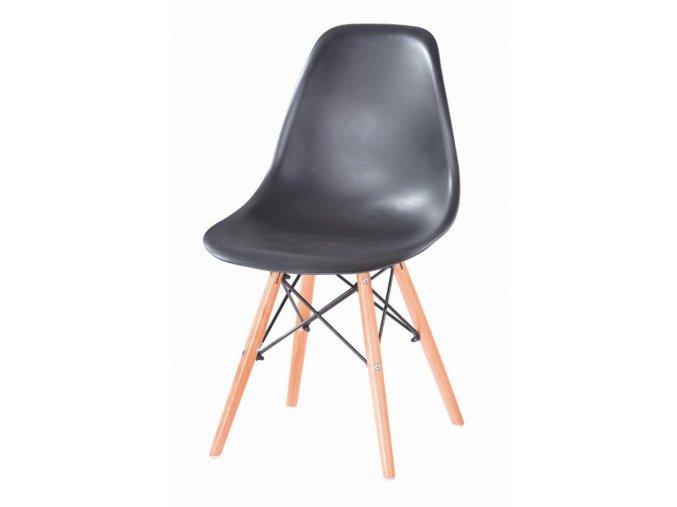 Jídelní židle P-623 - černá