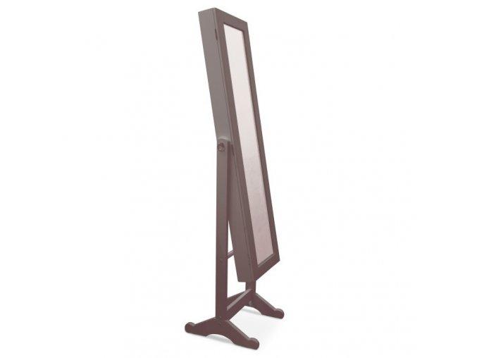 Zrcadlo FY13015-3 MIROR - tmavohnědá