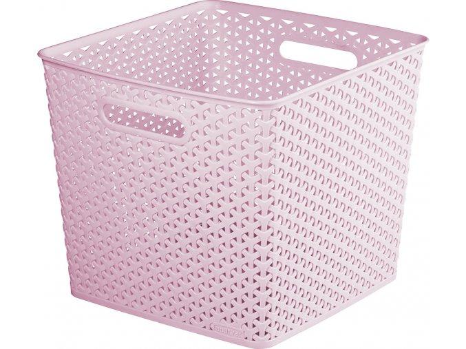 Box MY STYLE SQR - růžový