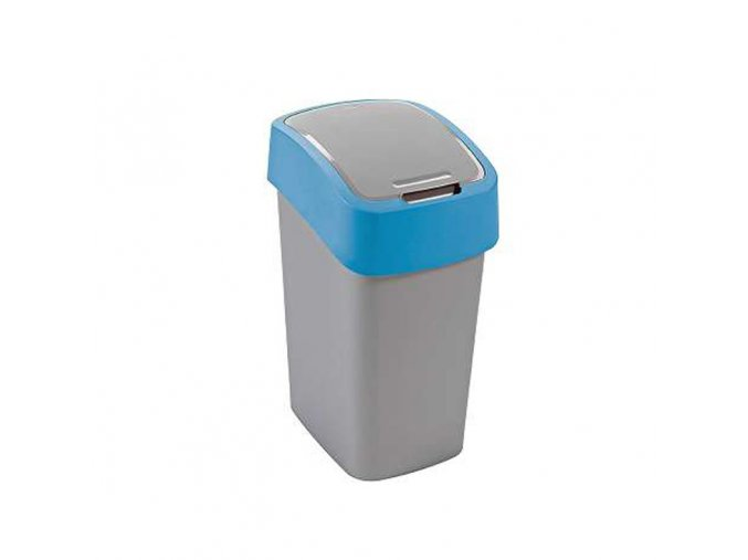 Odpadkový koš FLIPBIN 10L - modrý
