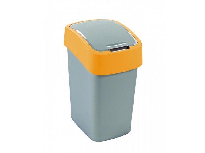 Odpadkový koš FLIPBIN 25L - žlutý